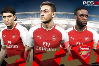 """Sau chục năm, cuối cùng Arsenal cũng đã được trả lại tên thật trong PES, không còn là """"North London"""" nữa rồi"""