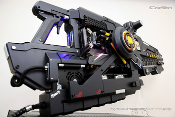 Không thể tin nổi, khẩu súng 'viễn tưởng' này lại là bộ máy tính khủng