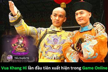 Lạ lẫm với game kiếm hiệp đầu tiên có Vua Khang Hi đánh chưởng Kim Dung