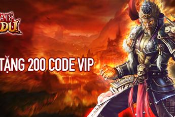 SohaPlay tặng 200 Vipcode Chúa Tể Tây Du, nhanh tay nhận ngay quà
