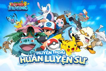 Học Viện Thú Cưng - Game mobile mới huấn luyện Pokemon được mua về Việt Nam