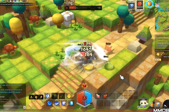 Cận cảnh MapleStory 2 - Game hành động siêu dễ thương mới mở cửa bản tiếng Anh