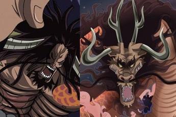 """One Piece: Kaido sẽ tiêp tục """"biến thân"""" thành hình dạng nửa người nửa Rồng trong Chapter tiếp theo?"""