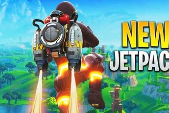 Fortnite ra mắt đồ mới cực chất Jetpack, cho phép game thủ vừa bay vừa bắn