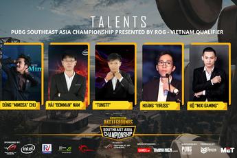 4 team Việt Nam nào sẽ tham dự giải đấu PUBG Đông Nam Á tại Thái Lan?