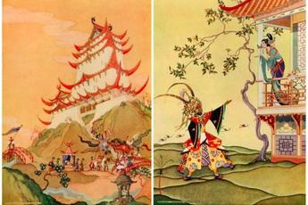 Ít ai biết rằng Aladdin và cây đèn thần có nguồn gốc Trung Quốc chứ không phải Ả-Rập như chúng ta vẫn đinh ninh
