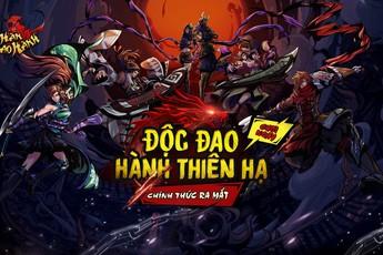 Game mới Hàn Đao Hành tặng 500 Vipcode mừng ra mắt chính thức