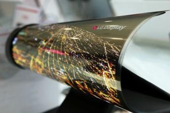 Smartphone màn hình gập chưa là gì, LG còn định ra mắt cả smartphone màn hình cuộn