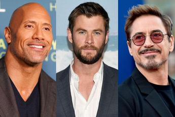 Top 10 nam diễn viên có thu nhập cao nhất 2019: The Rock thắng lớn với hơn 2000 tỷ/năm