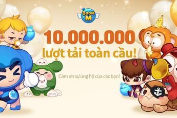 10 triệu lượt tải, hơn 250.000 người chơi cùng lúc: Huyền thoại Boom M trở lại lợi hại gấp nghìn lần!