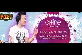 Dưa Leo bất ngờ tham dự offline Mộc Đế Online