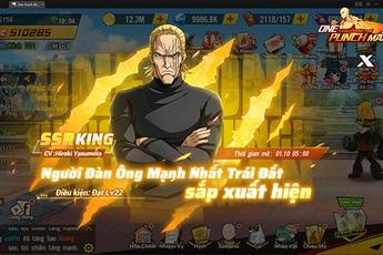 Người đàn ông mạnh bậc nhất trái đất đã xuất hiện ở One Punch Man: The Strongest