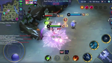 Thử nghiệm chế độ chơi sinh tồn cực độc của Mobile Legends: Bang Bang