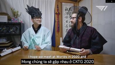 (Video Vietsub) Faker và Bjergsen gửi lời chúc năm mới cho nhau: 'Mong chúng ta sẽ cùng thành công, hẹn gặp lại tại CKTG'