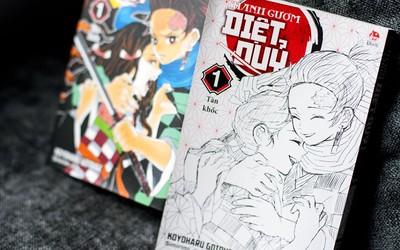 Thanh Gươm Diệt Quỷ: Manga bom tấn mở màn năm 2020 của nhà xuất bản Kim Đồng!