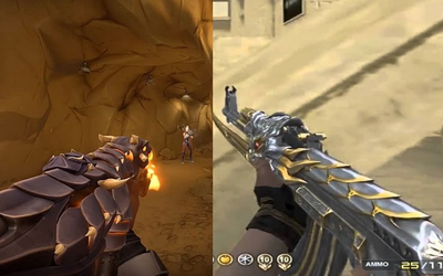 VALORANT: Riot Games lại ăn 'mưa gạch' - Ra skin súng vừa rối mắt, vừa đắt lại còn giống Đột Kích?