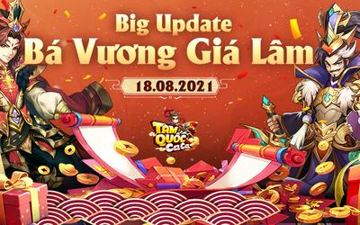 Tam Quốc Ca Ca chính thức tung Big Update