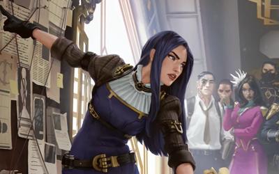 Game thủ LMHT yêu cầu Riot nâng cấp hình ảnh cho Caitlyn khi thấy cô lột xác ở Huyền Thoại Runeterra