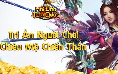 SohaPlay tặng ngay 500 Giftcode Webgame Hồi Đáo Tam Quốc