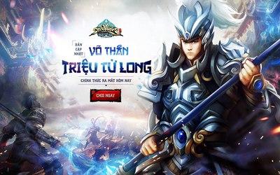 Soái Vương thân tặng độc giả giftcode nhân dịp Võ Thần Triệu Tử Long xung trận