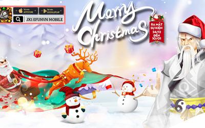 Game thủ JX1 Huyền Thoại Võ Lâm 'ấm lòng' đêm Giáng Sinh với hàng ngàn quà tặng