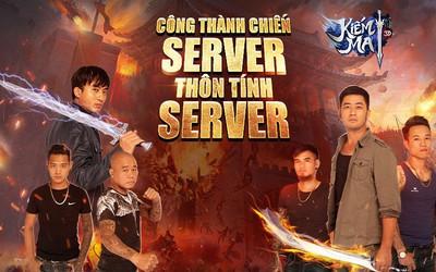Game thủ Kiếm Ma 3D được một phen trầm trồ trước TVC Công Thành Chiến - Server thôn tính server