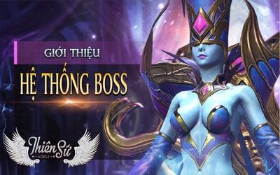 Kiếm đâu được màn tranh Boss bá đạo hơn trong Thiên Sứ Mobile?
