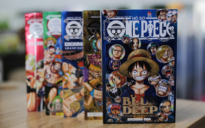 Databook One Piece phiên bản giới hạn đựng trong hộp siêu đẹp chuẩn bị ra mắt fan