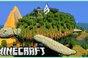 Thánh Minecraft 'dành cả thanh xuân' để xây rùa bay khổng lồ, trên lưng còn vác thêm tòa tháp pha lê đầy tráng lệ